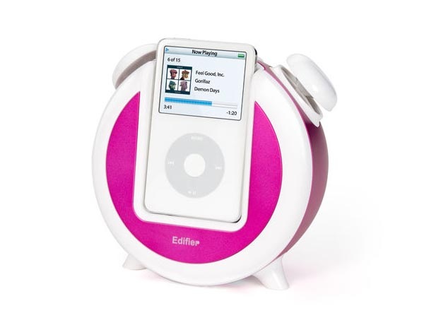 Retro iPod Alarm Clock Doubled as Speaker Dock