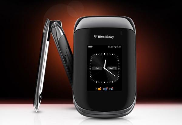 RIM BlackBerry Style 9670 Flip Phone Available for Preorder