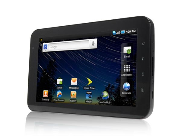 Samsung Galaxy Tab Available for Preorder at Sprint