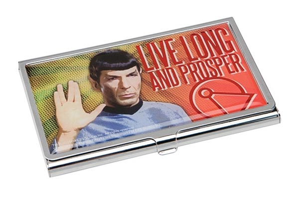 Star Trek Metal Business Card Holder