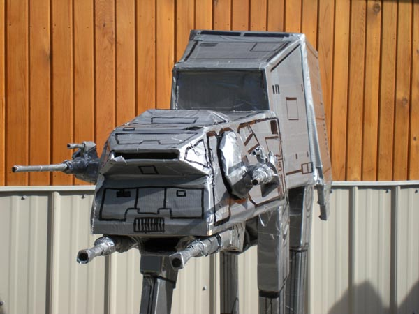 Star Wars AT-AT Walker Made of Duct Tape