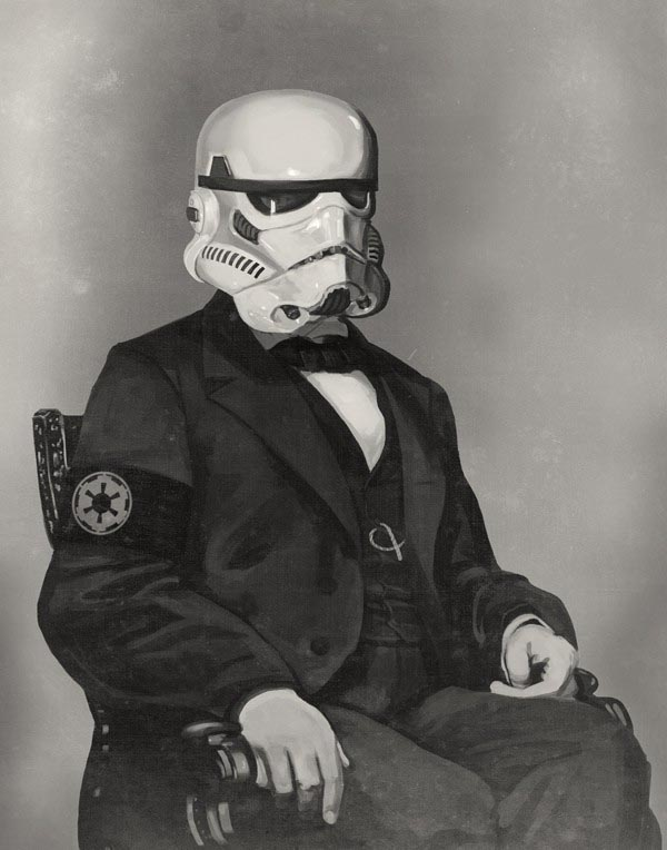 Star Wars Stormtrooper Lincoln Limited Edition Print