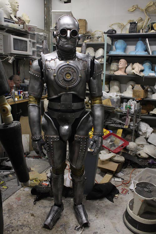 Steampunk Iron Man Comes from Tin Man