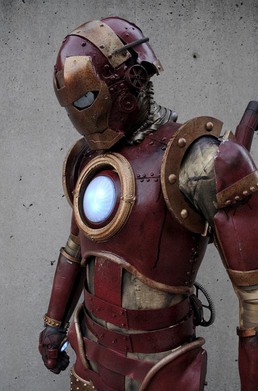 Steampunk Iron Man Living In Victorian Age Gadgetsin