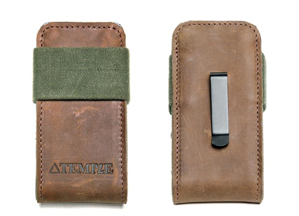Temple iPhone 4 Leather Case