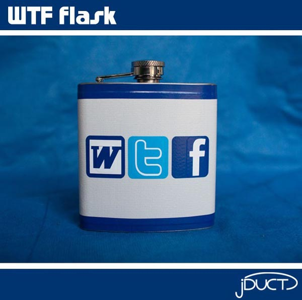 WTF Stainless Steel Flask