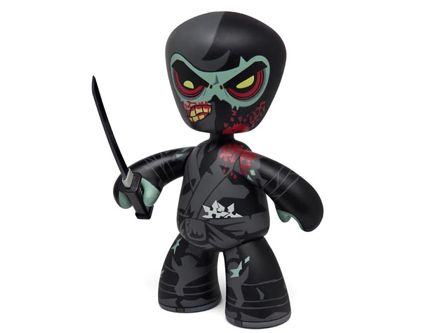 Zombie Ninja Mez-Itz Action Figure Limited Edition