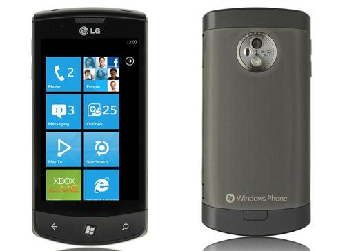 LG Optimus 7 Windows Phone 7 Smartphone Unveiled