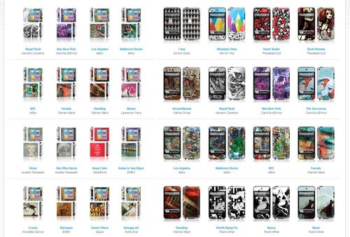 GelaSkins New iPod Nano and Touch Skins