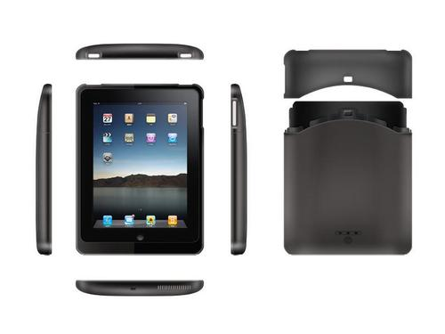SolidMicro PadPower iPad Case with External Battery