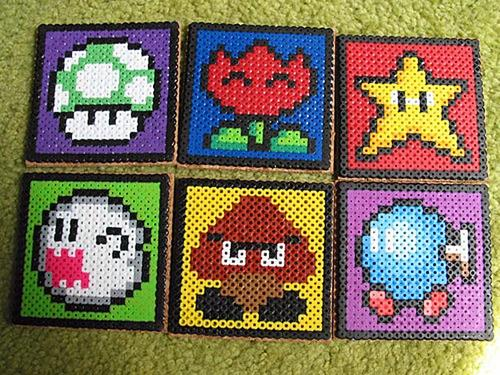 Super Mario Coaster Set Gadgetsin