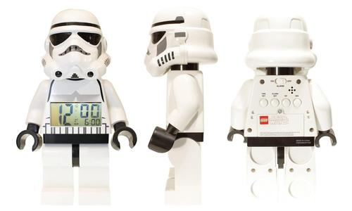 Darth Vader and Stormtrooper LEGO Minifigures Alarm Clocks
