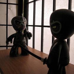 Zombie Ninja Mez-Itz Action Figure Limited Edition