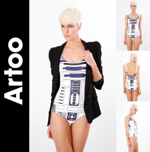 Star Wars R2-D2 Swim Suit