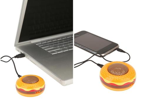 Hamburger Styled Portable Speaker