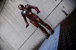 Steampunk Iron Man Living in Victorian Age