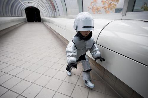 Happy Halloween, Sweet Kid Robocop and Every Visitor