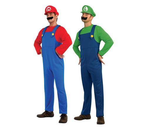 Super Mario and Luigi Costumes