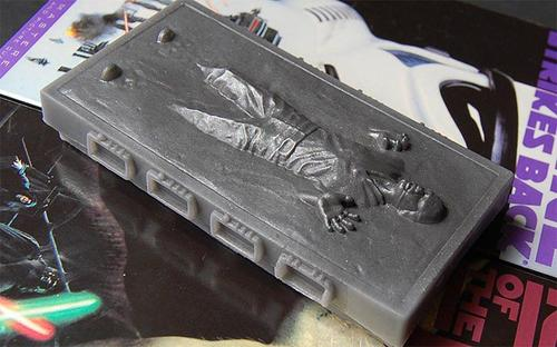 Han Solo in Carbonite Geek Soap