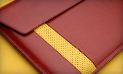 Vaja Custom MacBook Air Leather Case