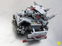 LEGO Metal Slug Remote Control Tank