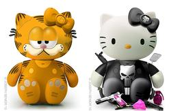 New Hello Kitty Model Kits by Joseph Senior