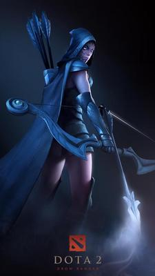 New Valve Game DOTA 2 - Drow Ranger