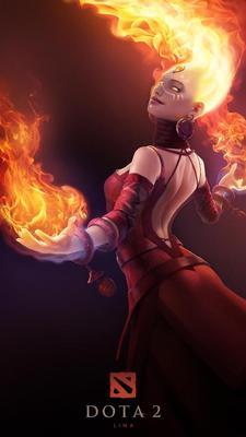 New Valve Game DOTA 2 - Lina