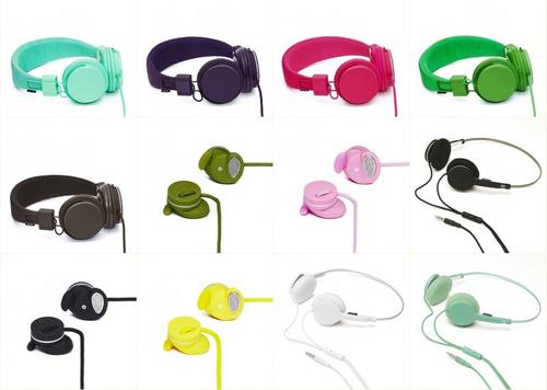 Enjoy Favorite Music and Color with Urbanears Headphones