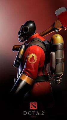New Valve Game DOTA 2 - Pyro