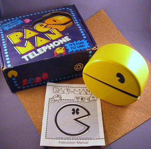 Vintage Pacman Telephone
