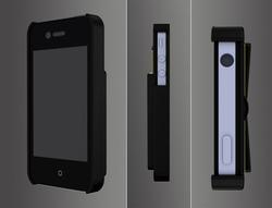 Eco-friendly iPhone 4 Cases Integrated Stand and Card Holder