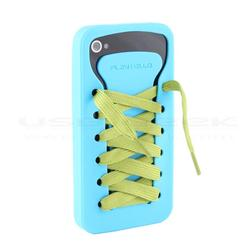 PlayHello iShoes iPhone 4 Case with Colorful Lace