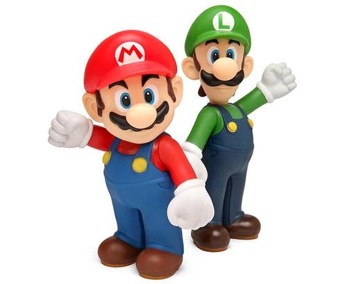 Cute Super Mario Bros Vinyl Figures