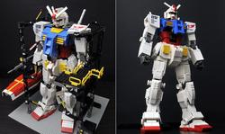 Awesome LEGO Gundam Action Figure