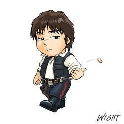 H is for Han Solo by joewight