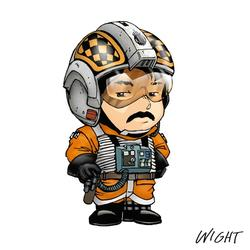 X is for X Wing Pilot by joewight