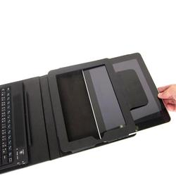 Thanko iPad Leather Case Integrated Bluetooth Keyboard