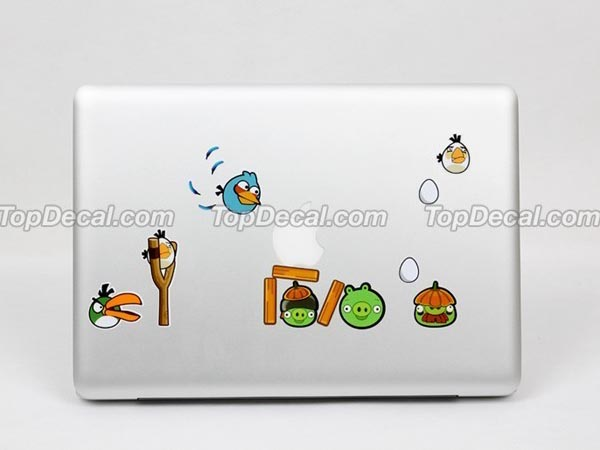 Angry Birds MacBook Sticker