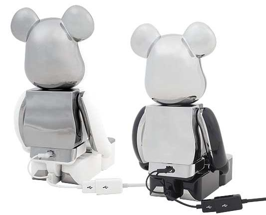 Bearbrick Dock Speaker System for iPhone and iPod