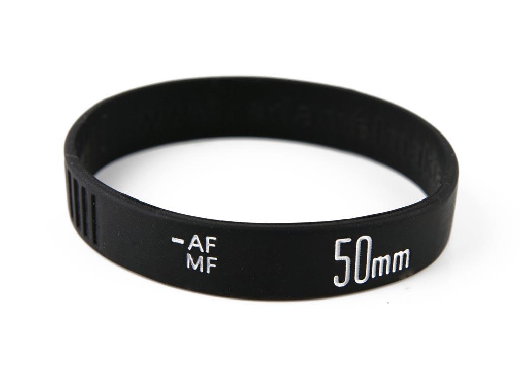 Camera Lens Silicone Bracelet Gadgetsin