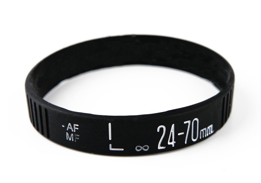 Camera Lens Silicone Bracelet | Gadgetsin