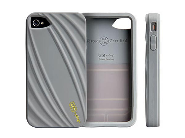 Case-Mate Bounce iPhone 4 Case with Pong Radiation Reducing Technology