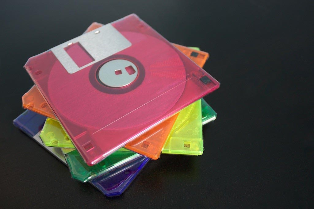 Colorful Floppy Each Set of Colored Floppy