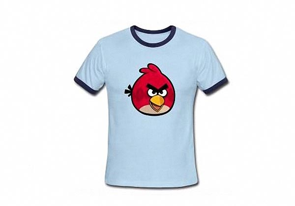 Customizable Angry Birds T-Shirts