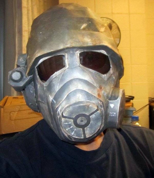 Fallout New Vegas NCR Ranger Helmet Paper Craft