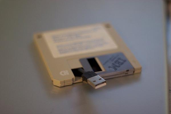 Floppy Disk Styled USB Flash Drive