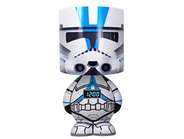 Funko Star Wars Clone Trooper Alarm Clock Lamp with Speaker