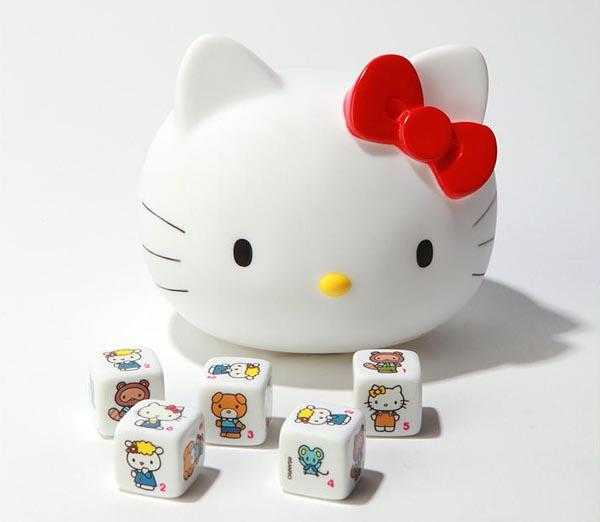 Hello Kitty Yahtzee Dice Game