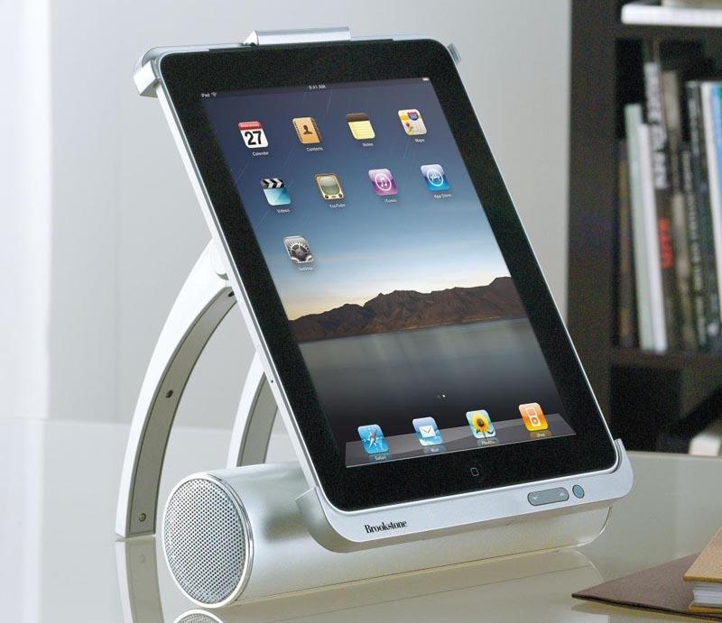 idesign ipad docking station gadgetsin. Black Bedroom Furniture Sets. Home Design Ideas